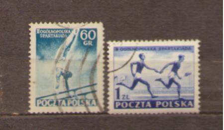 POLSKA LATA 50 -TE kasowane - 170