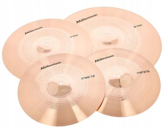 Zestaw talerzy perkusyjnych z brązu Millenium Set