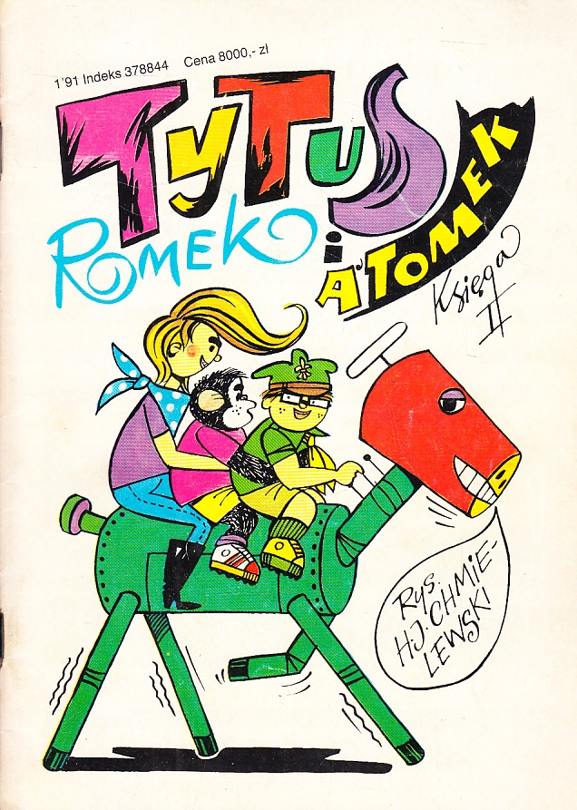 TYTUS ROMEK I ATOMEK księga II CHMIELEWSKI komiks