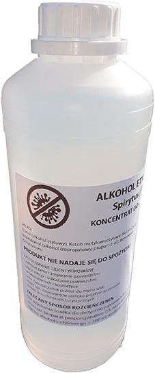 Płyn do dezynfekcji powierzchni antybaktery 70% 1L