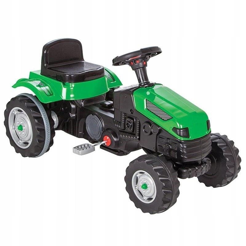 WOOPIE Traktor Ciagnik na Pedały Zielony