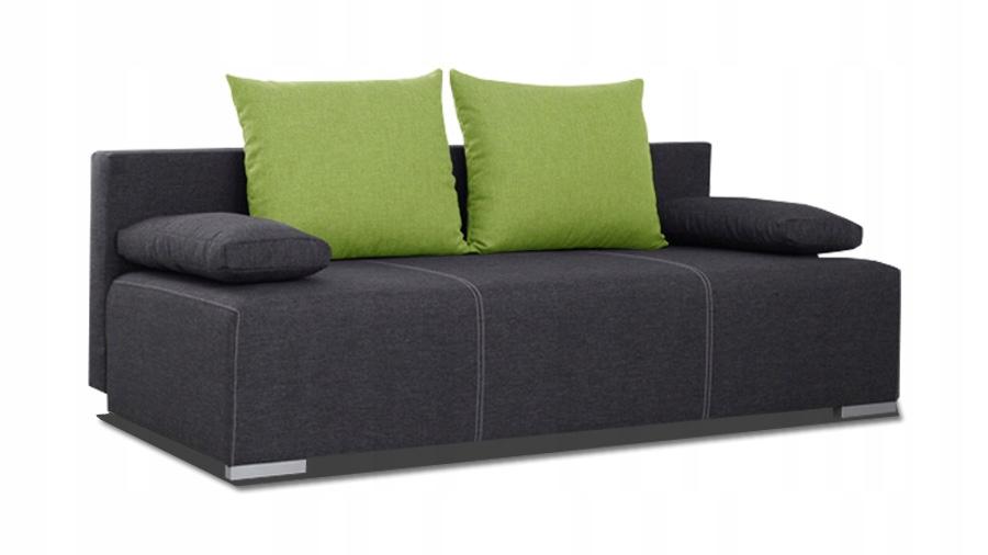 Kanapa GAJA sofa rozkładana tapczan łóżko RIBES