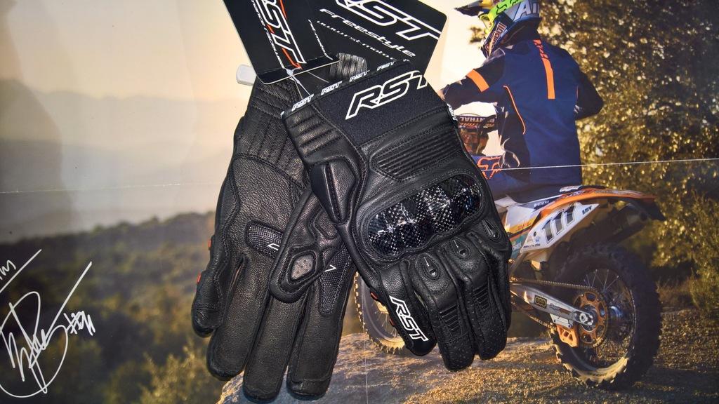 Rękawice RST Freestyle Black roz. M