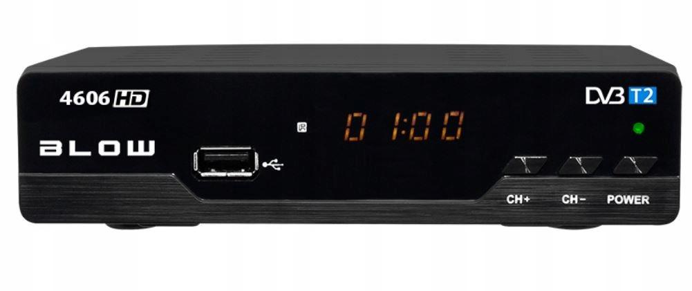 BLOW TUNER DVB-T2 4606 HD