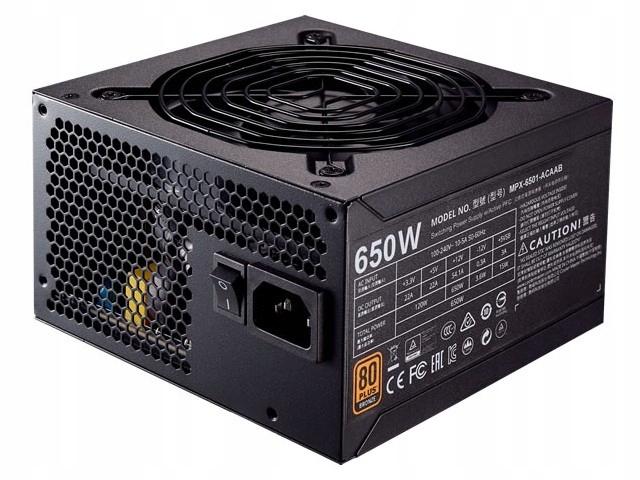 Zasilacz Cooler Master MWE 650W 80+ Bronze MPX-650