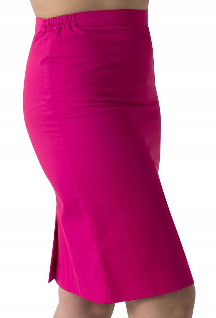 spódnica kosmetyczna amarantowa r. S (36)
