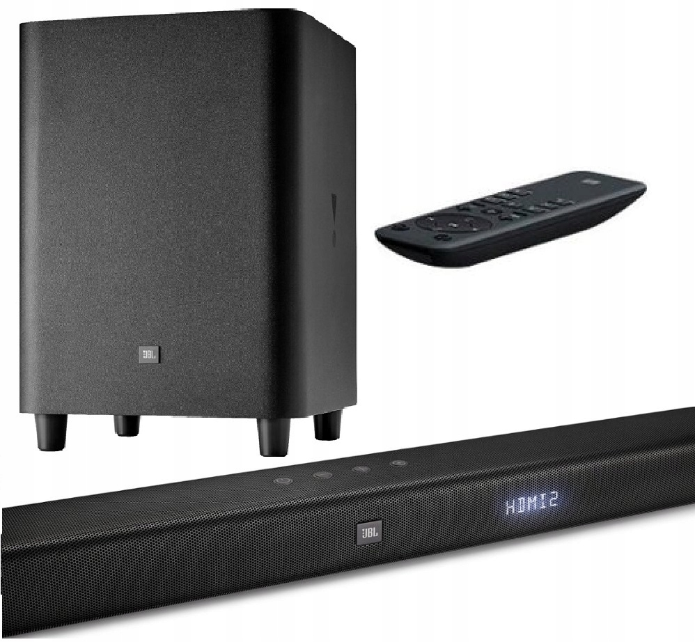 Soundbar JBL Bar 3.1 450W Bluetooth czarny
