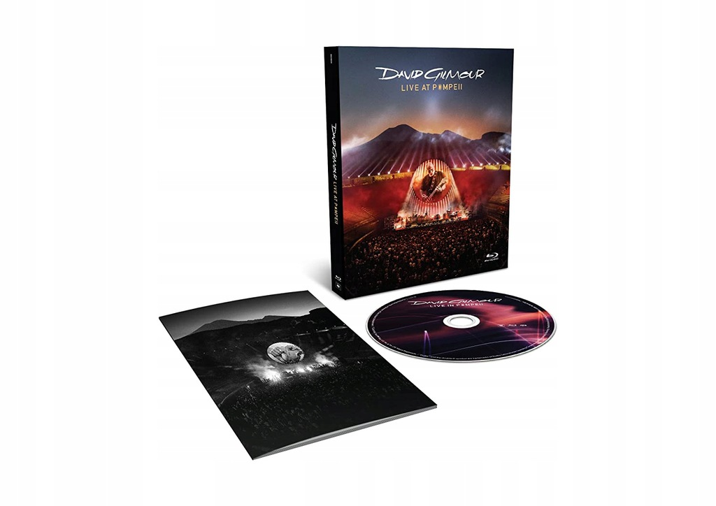 Pink Floyd`s DAVID GILMOUR Blu-ray Live At Pompeii