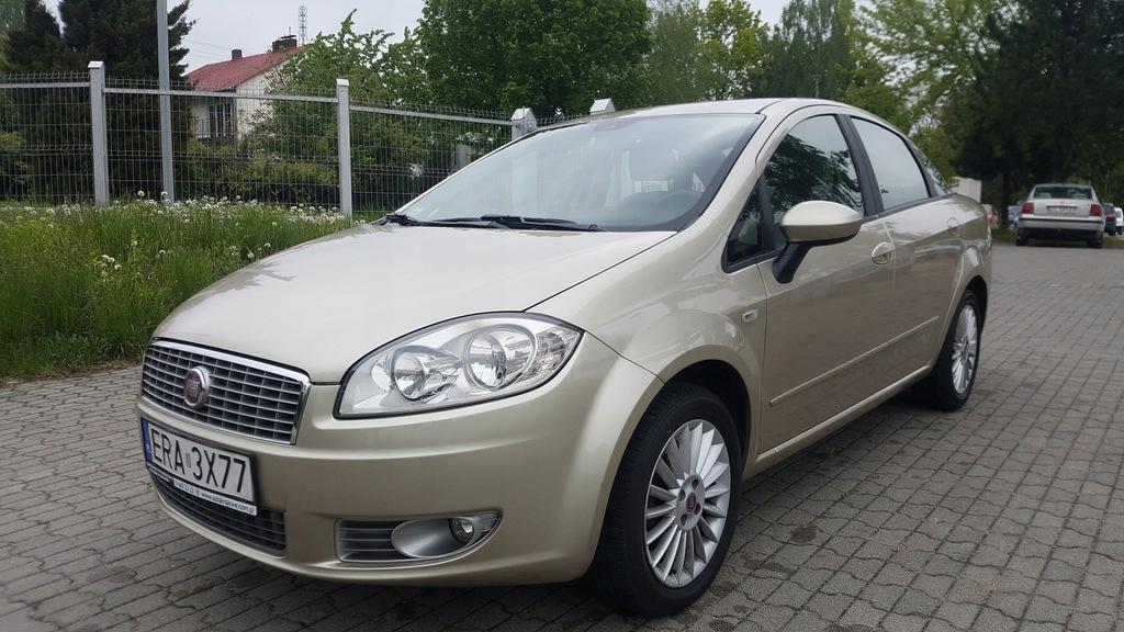 FIAT LINEA 1.4 77KM benzyna, 1 wł, salon PL