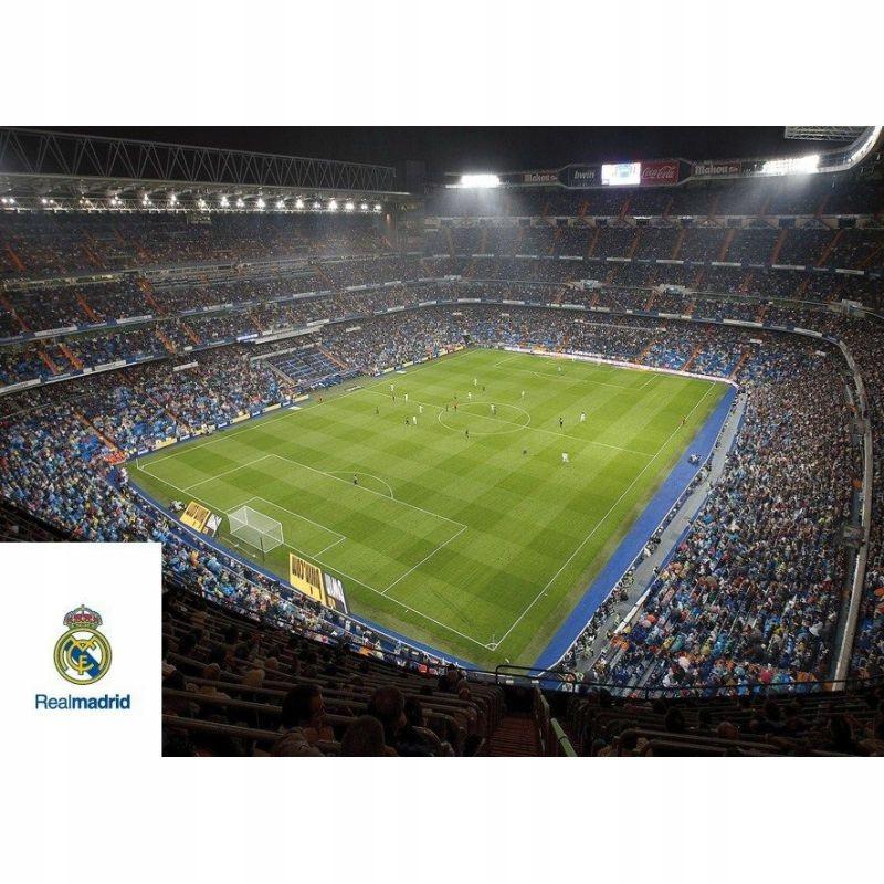 Kartka pocztowa - stadion Real Madryt, pocztówka