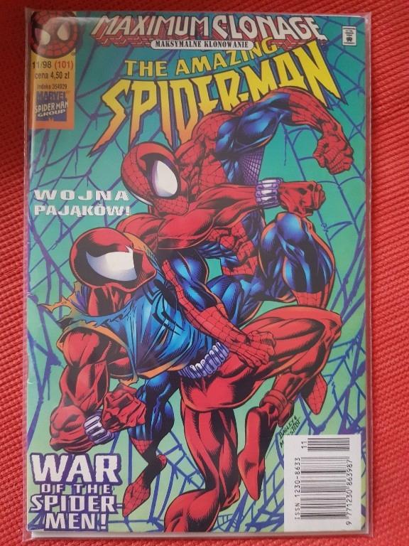 Tm-semic Spiderman 11/98 rzadki nr stan bdb folia