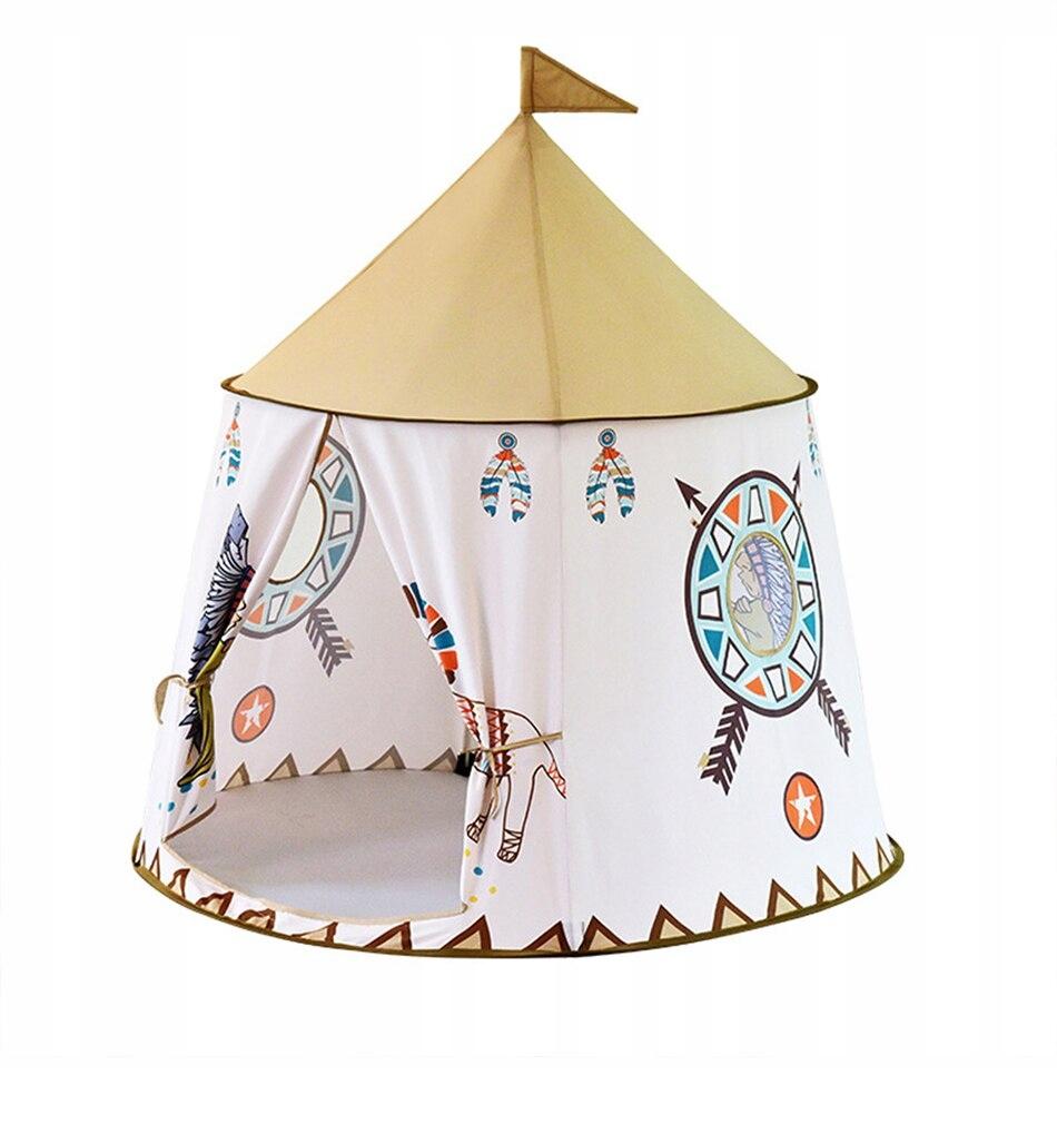 Namiot domek CYRK dla dzieci Tipi Wigwam INDIAN