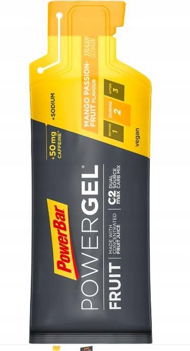 PowerBar PowerGel FRUIT, WĘGLOWODANY