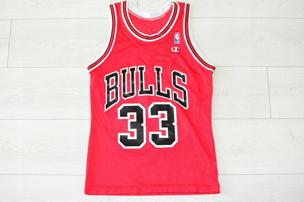 CHAMPION _ CHICAGO BULLS _ PIPPEN _ JERSEY _ NBA
