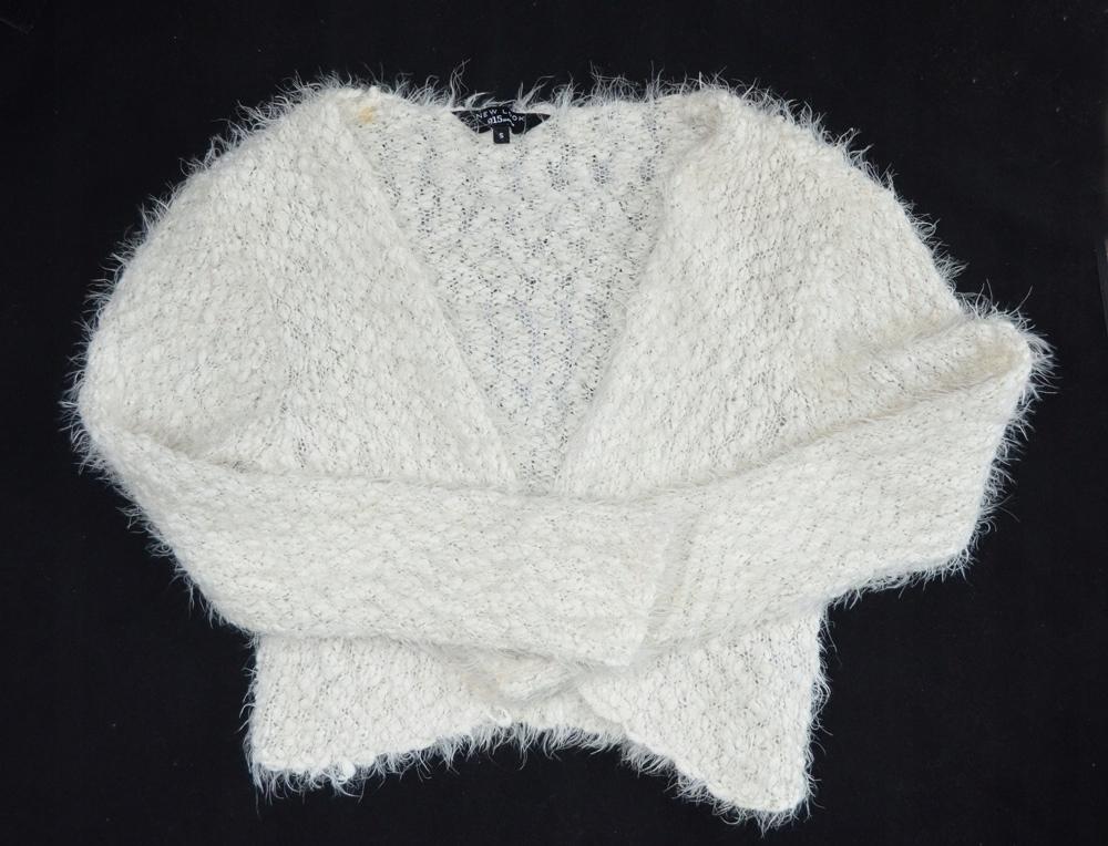Śliczny sweterek bolerko New Look r.S