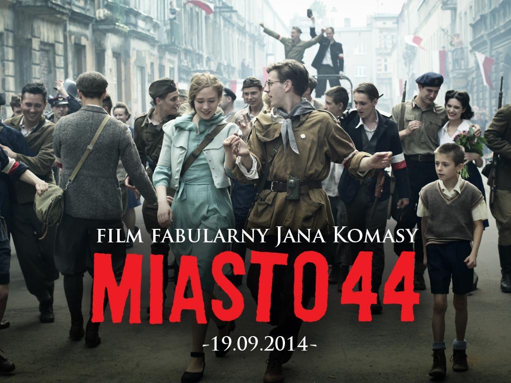Prywatny pokaz kinowy filmu Miasto 44 z reżyserem