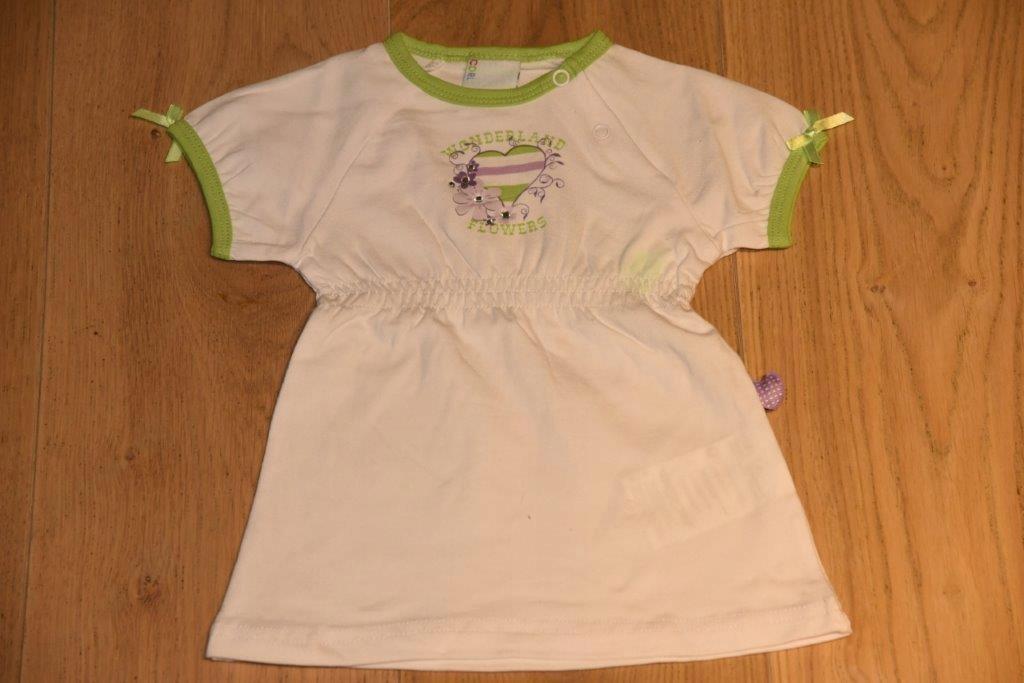 Tunika bluzka firmy Coccodrillo rozm 68cm/3-6mcy
