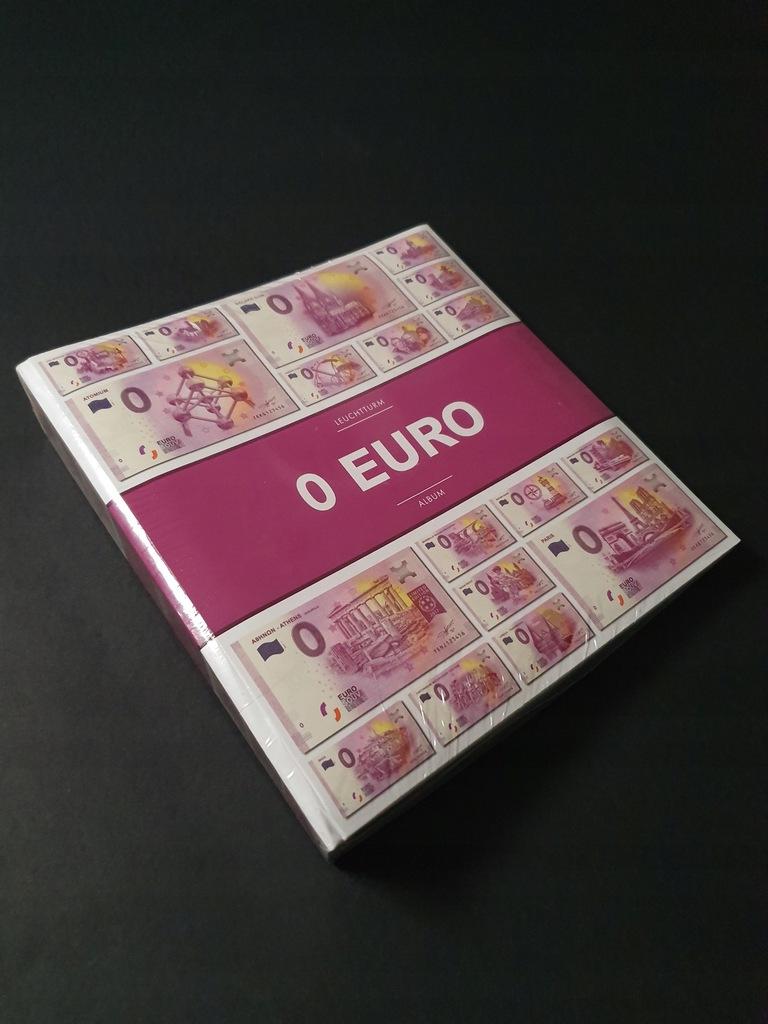 ANK KLASER ALBUM LEUCHTTURM 0 EURO + specimen