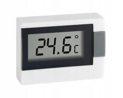 Cyfrowy termometr TFA Dostmann, biały