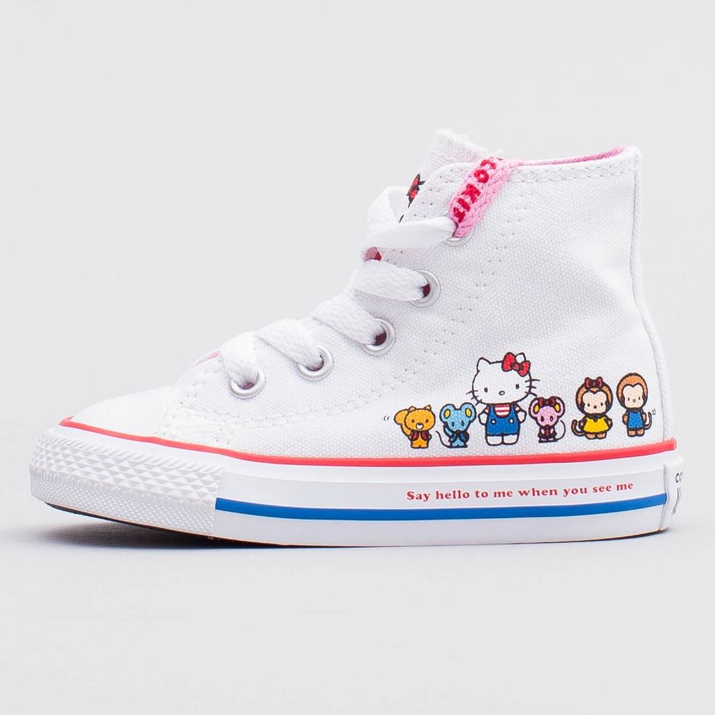 Converse x Hello Kitty 362948C US2EU33.520.5CM