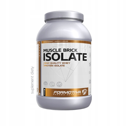 Formotiva Muscle Brick Isolate 1000g wanilia