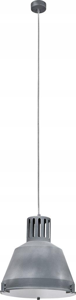 LAMPA WISZĄCA INDUSTRIAL CONCRETE I M 1XE27 60W