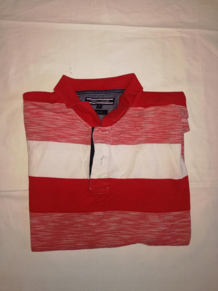 Tommy Hilfiger koszulka polo l bdb