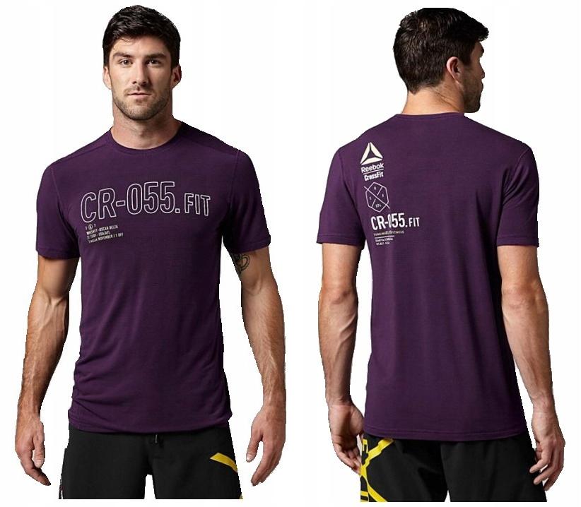 Reebok CrossFit Burnout SS koszulka męska - M/L
