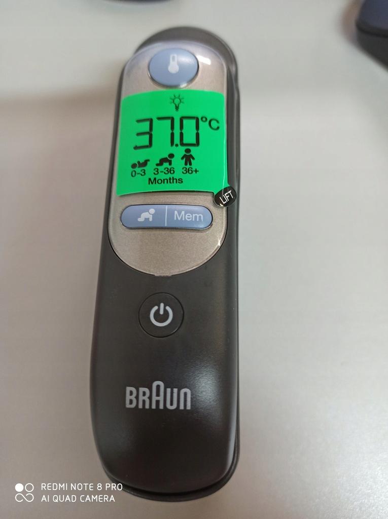 E5276 BRAUN ThermoScan 7 termometr