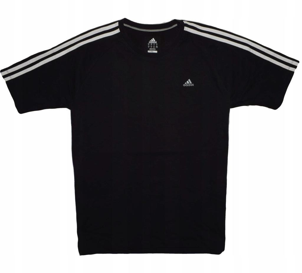 Adidas XL koszulka t-shirt CLIMALITE klasyk bawełn