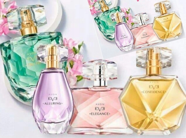 Eve Truth, Alluring,Elegance ,Confidence Avon 50ml