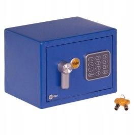 Sejf KET BLUE mini dokumenty niebieski 3,6l
