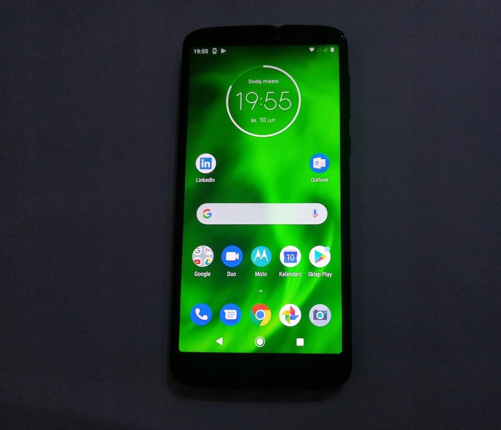 Motorola G6 XT1925-5 3GB/32GB sprawna-IDEAŁ zestaw