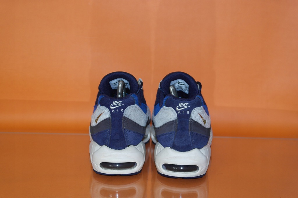 NIKE AIR MAX 95 PRM Trainers In Navy buty sport.44