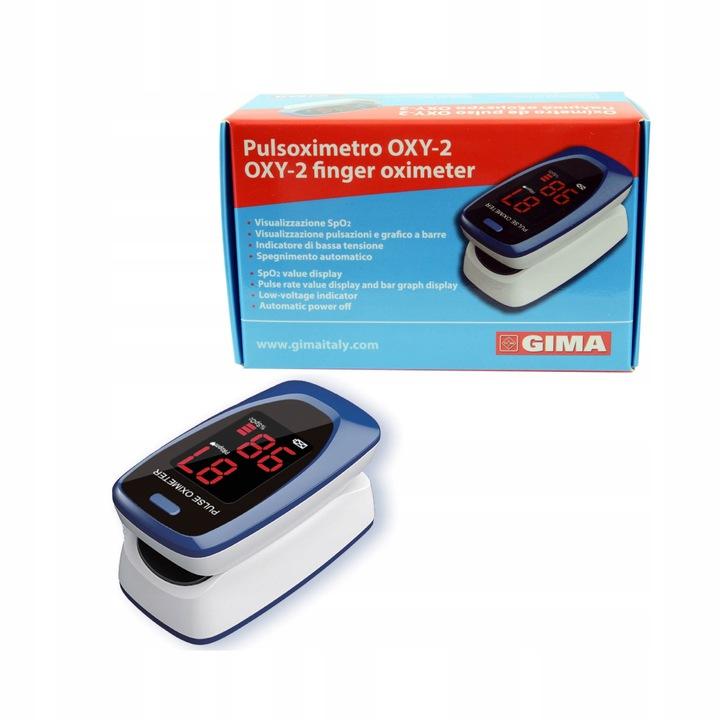 Pulsoksymetr napalcowy OXY-2