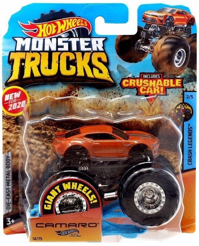 Hot Weels Monster Trucks - Camaro