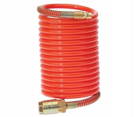 Wąż spiralny 5 m sprężarka kompresor śr 8mm