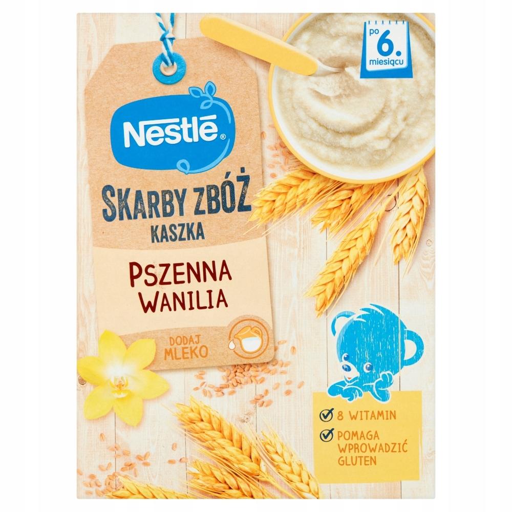 NESTLE SKARBY ZBÓŻ kaszka pszenna wanilia 250 g