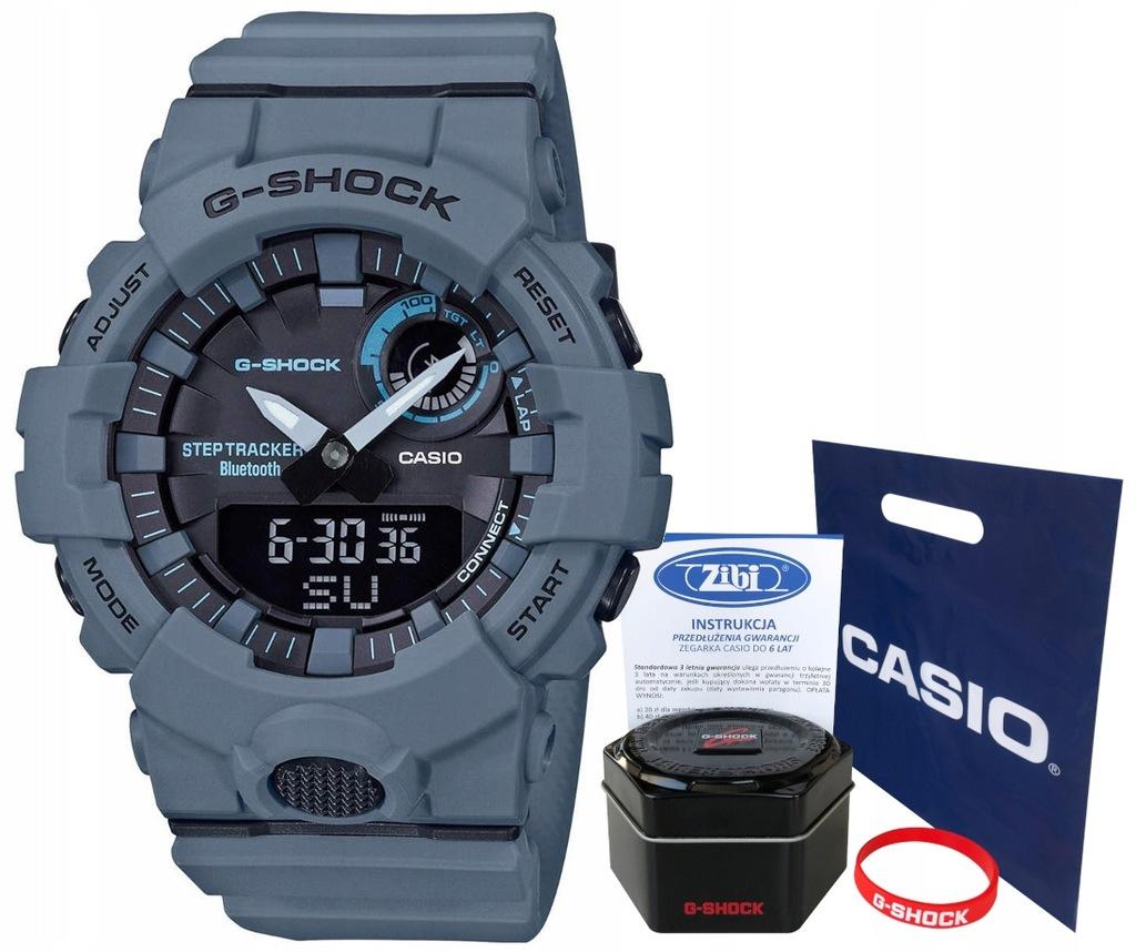 Zegarek dla chłopca Casio G-SHOCK GBA-800UC -2AER