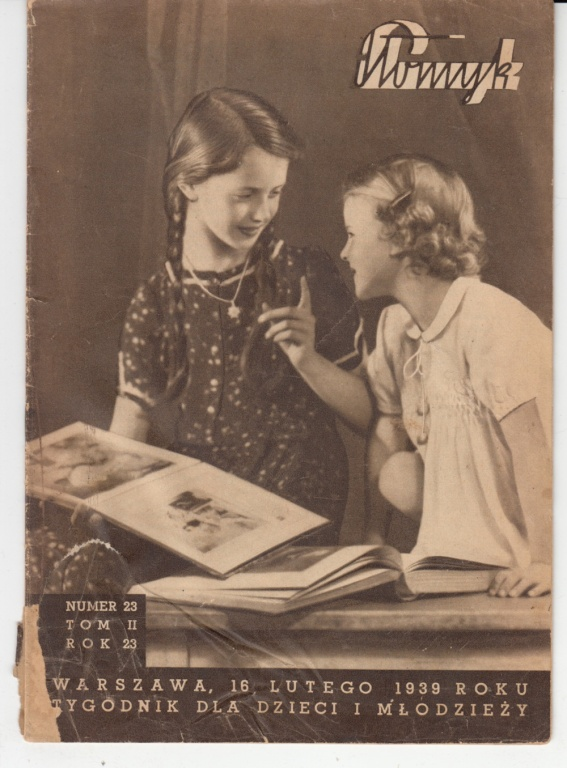Płomyk Nr 23 z 1939 16 lutego 1939