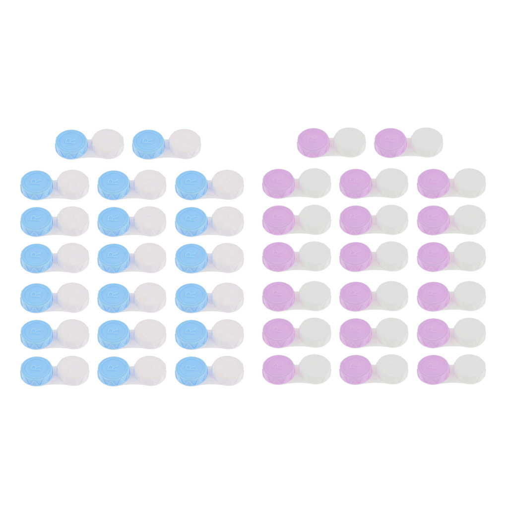 40 sztuk etui na soczewki kontaktowe