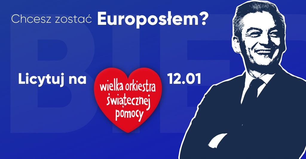 Robert Biedroń - zostań Europosłem na jeden dzień