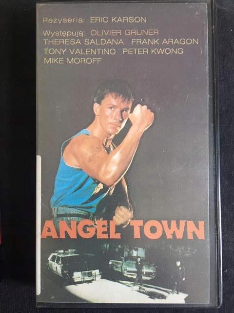 ANGEL TOWN / MIASTO ANIOŁÓW 1990 VHS SZTUKI WALKI