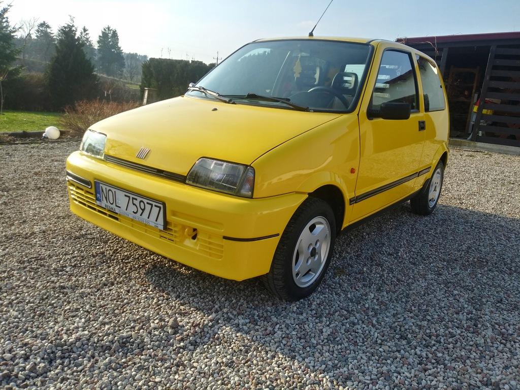 Samochod osobowy Fiat Cinquecento