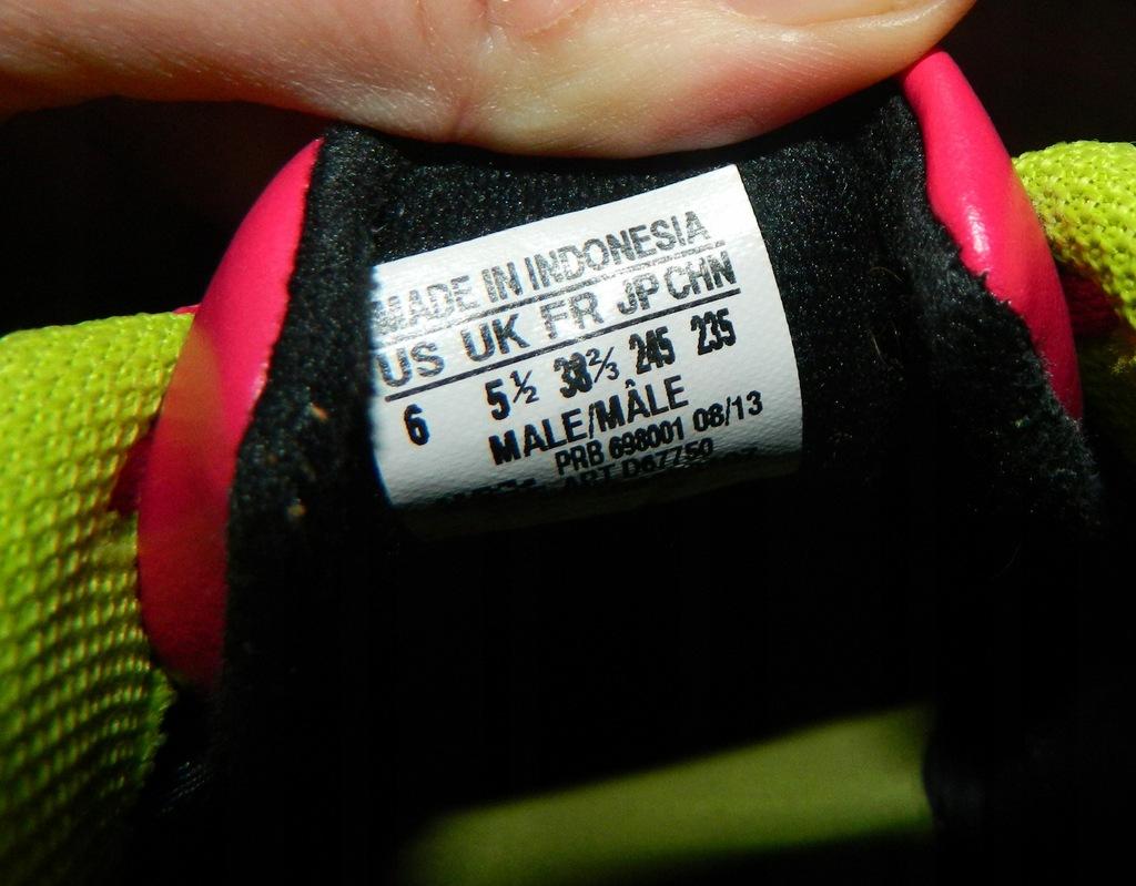 Adidas Performance różowe halówki 38 23 23,5 cm
