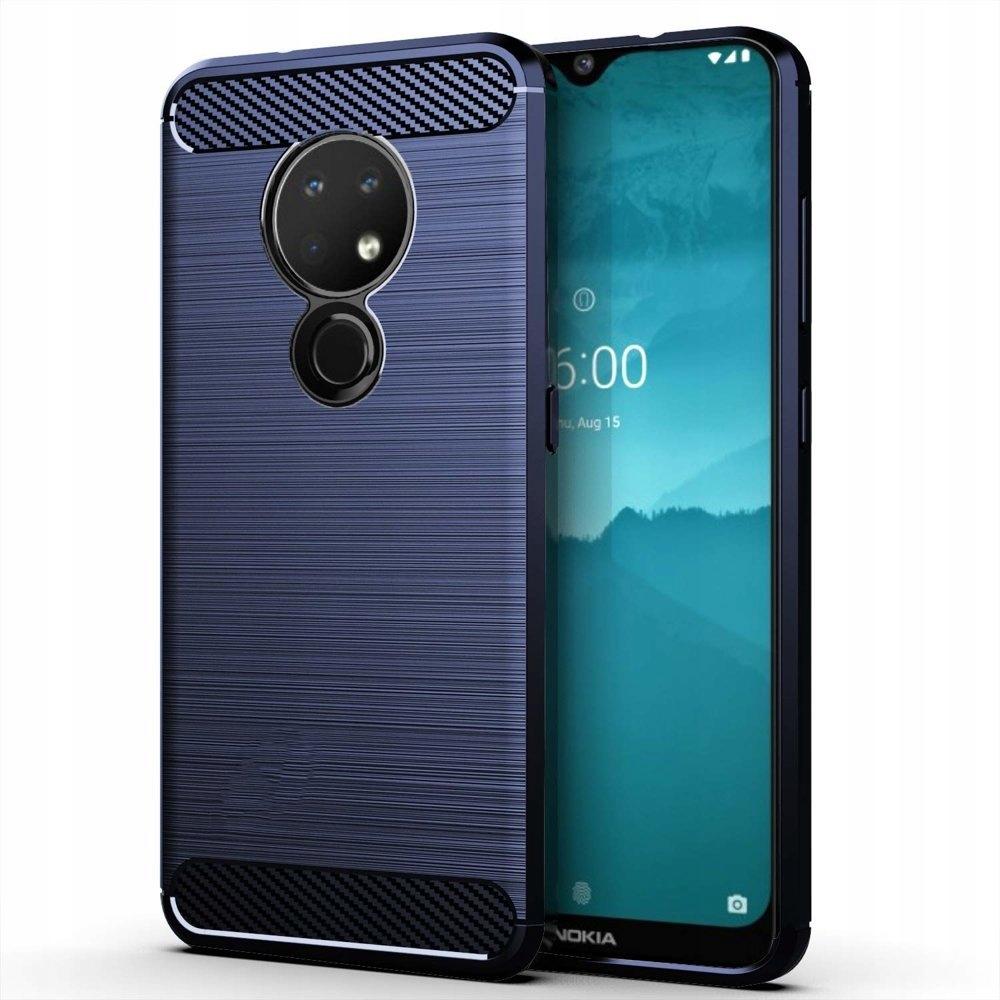 Carbon Case elastyczne etui do Nokia 7.2 / 6.2