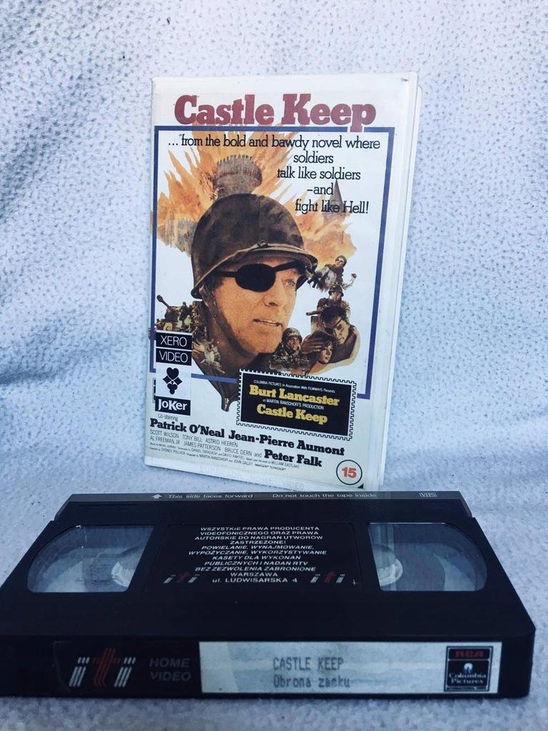 CASTLE KEEP - OBRONA ZAMKU 1969 VHS KASETA VIDEO