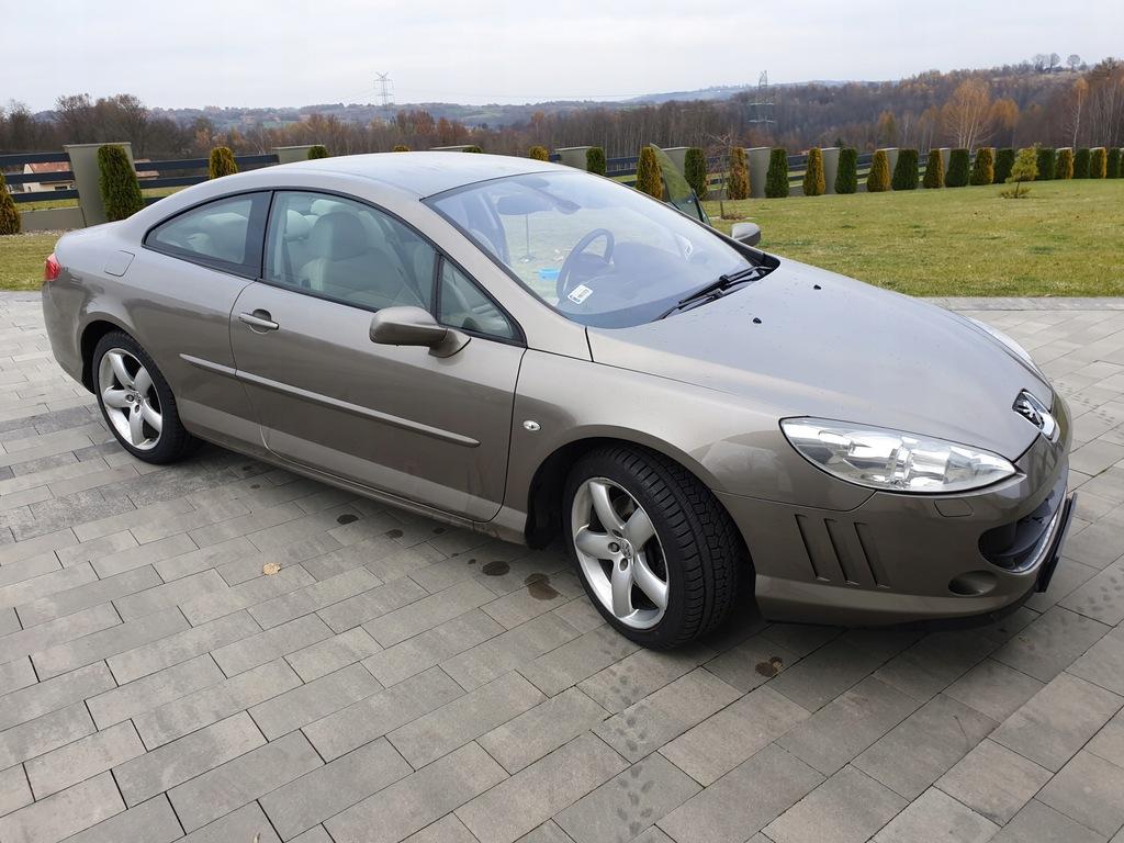 Peugeot 407 Coupe 6c 2 7 Hdi 204 Km 9237660364 Oficjalne Archiwum Allegro