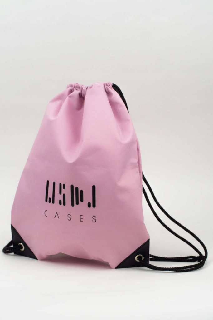 Worek na plecy różowy - WSDJ Cases #PINK