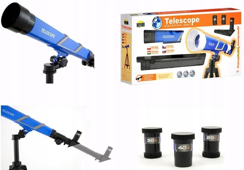 Zabawka Edukacyjna Teleskop 50x67 cm DROMADER